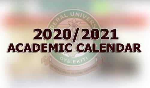 2020/2021 ACADEMIC SESSION